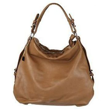 V Couture by Kooba Zip Top Hobo with Faux Fur Trim - QVC.com