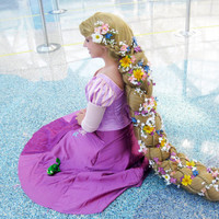 Rapunzel Tangled Inspired Braid Wig