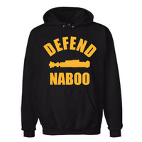 Star Wars Defend Naboo Hoodie by Geekcetera on Etsy