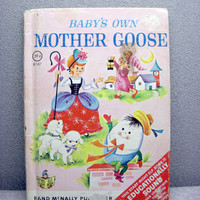 Baby's Own Mother Goose Vintage Childrens Book by VintageWoods