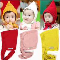 Korean Lovely Autumn Baby Hat Cap Elfin Kids Boy Girl Toddler Spring children