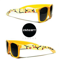 Sunglasses - Pokemon, Pikachu - Custom Wayfarers