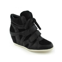 Pl Hi-top Wedge Lace-up Sneaker