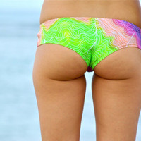 Pipeline Boy Shorts Bikini Bottoms - Create Your Own