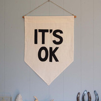 IT'S OK Affirmation Banner