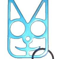 Safety Cat Women's Self Defense Keychain - Teal