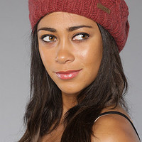 The Lena Beanie in Brick : Coal : Karmaloop.com - Global Concrete Culture