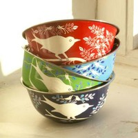 Eva Hand Painted Bowls