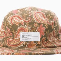 Publish Brand - Gregor 5 Panel Hat (Olive)