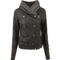 sirenlondon  Misha Hooded Jacket