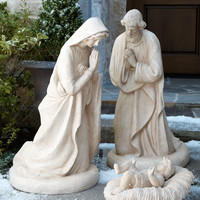 Holy Family Statues - Horchow