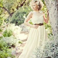 Sample sale ready to ship Romantico Gown Upcycled and by ktjean