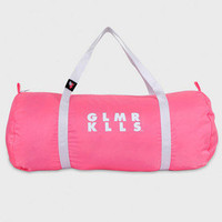 Globo Gym Bag Neon Pink - Glamour Kills Clothing