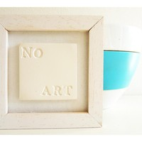 "Porcelain Wall Art ""NO ART&quo.. on Luulla"