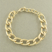 Gold Chain Link Bracelet from Her Vanity Affair
