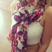 Floral Scarf from Papers &amp; Peonies