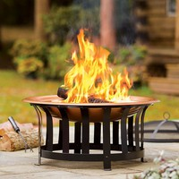 All-In-One Fire Pit And Accessories Is A Great Value - Plow & Hearth