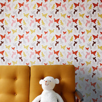 Origami wallpaper | Dottir &amp; Sonur