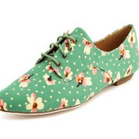 DITSY FLORAL CANVAS OXFORD (Blue)