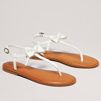 AEO Bow T-Strap Sandal | American Eagle Outfitters
