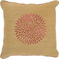 Surya Rugs Accessories Decorative Accent Pillow 18x18 P0040-1818 - Talsma Furniture - Hudsonville, Holland and Byron Center, MI