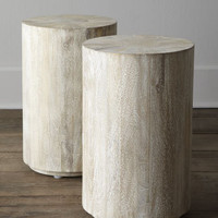 """Driftwood"" Side Table - Horchow"