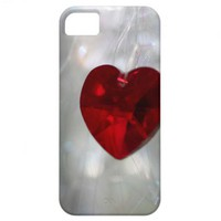 Red Heart Case iPhone 5 Cover from Zazzle.com