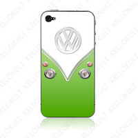 iPhone 4 VDov Green by kellokult on Etsy