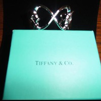 Tiffany & Co. * Silver Hearts Cuff