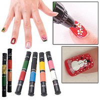 Amazon.com: Migi Nail Polish Art Sets 12 Colors (6 Pens) - Original and Party Colors: Beauty