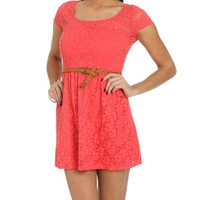 Crochet Lace Sweetheart Dress | Shop Dresses at Wet Seal
