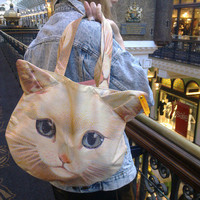 Cat Print Bag