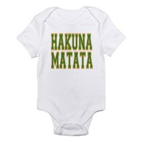 Amazon.com: Hakuna Matata Infant Bodysuit by CafePress: Clothing