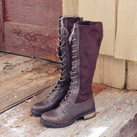 The Johnny Lace-up Boots, Rugged Boots & Shoes