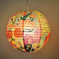 BlueQ Fresh Cut Flowers Paper Lantern