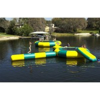 Amazon.com: Kidwise 20&#x27;. Water Trampoline Log: Toys &amp; Games