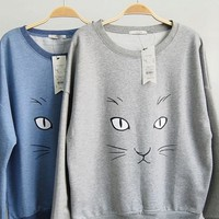 Innocent Kitty Cat Sweater