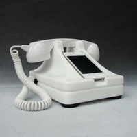 iRetrofone Classic White - iPhone docking station