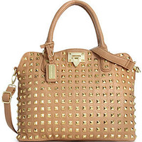 Steve Madden Handbag, Bdarby Studded Satchel - All Handbags - Handbags &amp; Accessories - Macy&#x27;s
