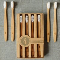 Bamboo Toothbrushes: Numerals : Branch: Sustainable Design for Living