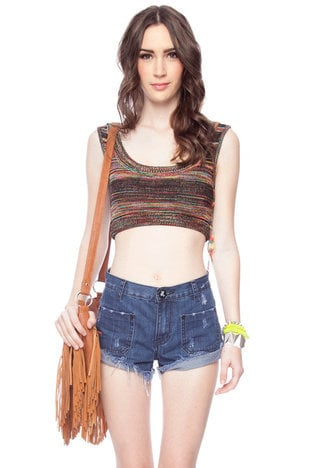 Mix and Mingle Cropped Tank Top $13