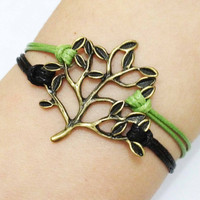 Bracelet Tree Branch Bracelet Antique Bronze by HandmadeJewelry88
