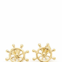 helm-earrings GOLD - GoJane.com