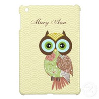 Owl iPad Mini Case Covers