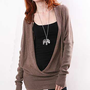 Deep V Tunic - Sweater Dresses at Pinkice.com