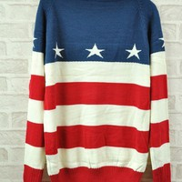 USA Stars & Stripes Sweater from from: Us to: You