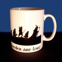 Fellowship of the Ring Quote coffee mug