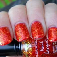 Kleancolor Chunky Holo Poppy FREE SHIP from MyStuff