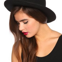 Madrid Wool Hat in  Accessories Hair + Hats at Nasty Gal