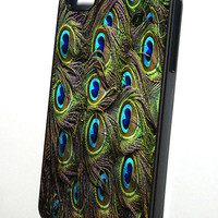 Peacock Feather Pattern iphone 4 case, iphone case,  iphone 4s case, iphone 4s, iphone 4 cover, iphone hard case,  iphone 4, iphone